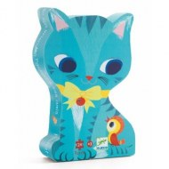 PUZZLE SILHOUETTE PACHAT & SES AMIS Chat DJECO