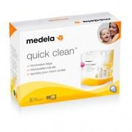 SACHETS DE STERILISATION MICRO-ONDES QUICK CLEAN MEDELA