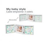 MY BABY STYLE CADRE EMPREINTE DOUBLE ÉDITION LIMITÉE MR & MRS CLYNK BABY ART
