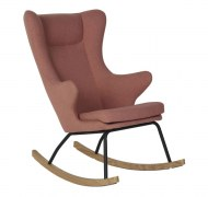 ROCKING-CHAIR ADULT CHAIR DE LUXE SOFT PEACH QUAX