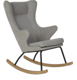 ROCKING-CHAIR ADULT CHAIR DE LUXE SAND GREY QUAX