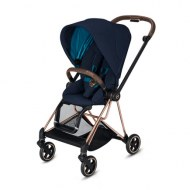 POUSSETTE MIOS NAUTICAL BLUE CHASSIS ROSEGOLD CYBEX