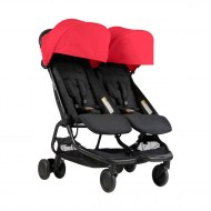 POUSSETTE DOUBLE NANO DUO RUBY MOUNTAIN BUGGY