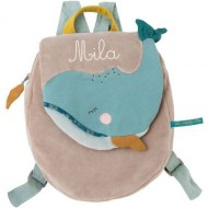 SAC A DOS BALEINE le Voyage d'Olga MOULIN ROTY (personnalisable)
