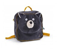 SAC A DOS ALPHONSE CHAT GRIS LES MOUSTACHES MOULIN ROTY