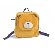 SAC A DOS LULU CHAT MOUTARDE LES MOUSTACHES MOULIN ROTY