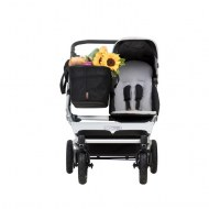 POUSSETTE DUET SINGLE SILVER/ARGENT MOUNTAIN BUGGY