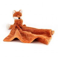 DOUDOU COUVERTURE BASHFUL RENARD FOX SOOTHER JELLYCAT