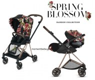 PACK POUSSETTE MIOS + CLOUD Z ALLONGEABLE SPRING BLOSSOM DARK CYBEX