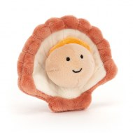 PELUCHE SENSATIONAL SEAFOOD COQUILLAGE ST JACQUES JELLYCAT