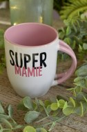 "MUG BLANC ""SUPER MAMIE"" pardeuxcestmieux"