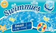 COUCHES PISCINE SWIMMIES BEBE CASH 7-13 kg