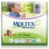 COUCHES XL ECOLOGIQUES MOLTEX NATURE N°1 (16-30kg) BÉBÉ CASH