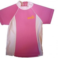 T-SHIRT ANTI UV NEOPRENE ROSE 1-2 ANS BABYSUN