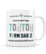 "MUG ""TONTON FORMIDABLE"" CRÉABISONTINE LABEL'TOUR"