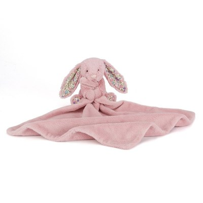 DOUDOU COUVERTURE BLOSSOM TULIP BUNNY SOOTHER JELLYCAT