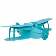 SUSPENSION AVION AIRPLANE TURQUOISE R&M COUDERT