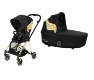 DUO POUSSETTE MIOS + NACELLE DE LUXE édition fashion WINGS CYBEX