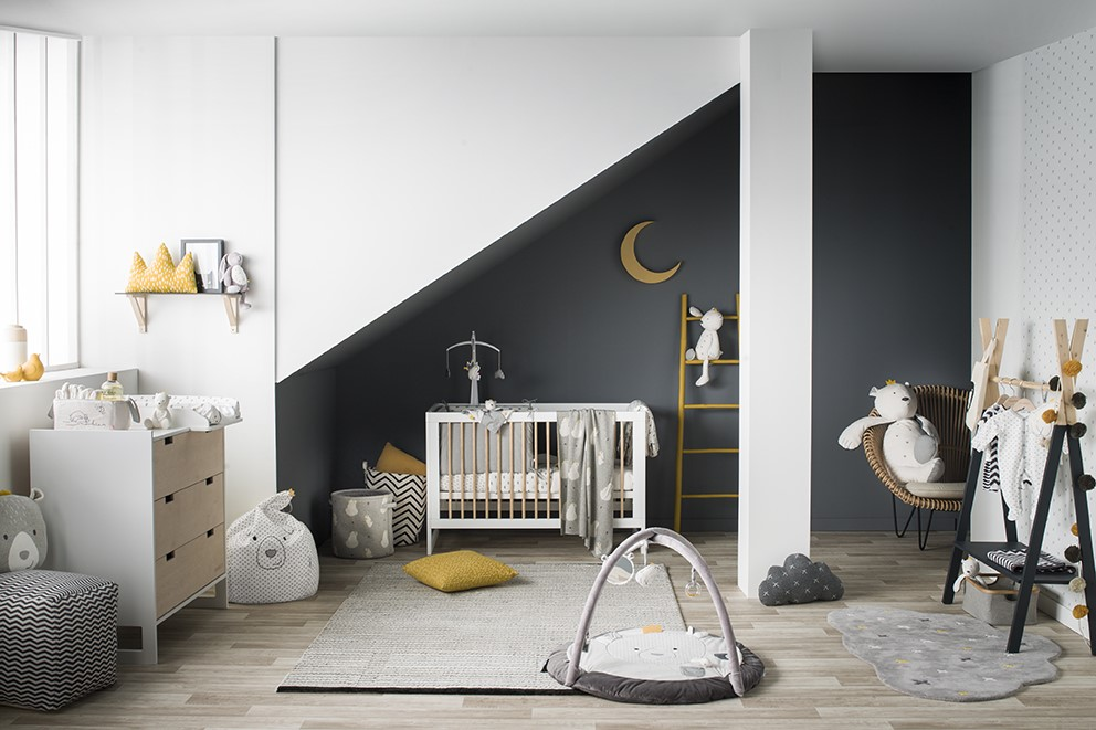 tour de lit timeless noukies momentbebe. Black Bedroom Furniture Sets. Home Design Ideas