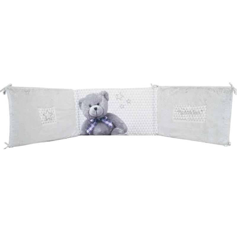 DOMIVA Couverture Imprim/é Snow Little Bear 75 x 100 cm